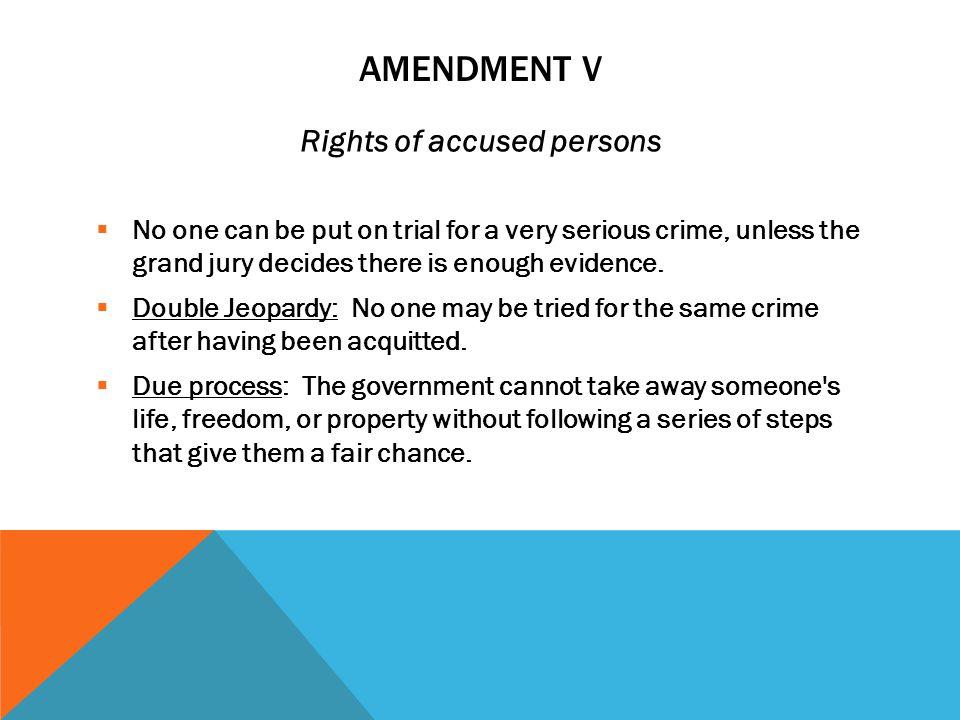 AMENDMENT IV Search and seizure