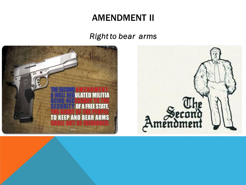 ACTIVITY Work by yourself and decide which amendment is the most important for citizens living in this country.
