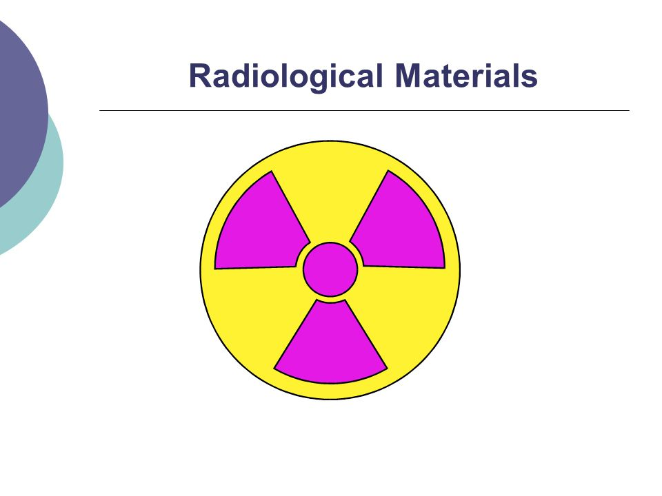 Radiological Materials