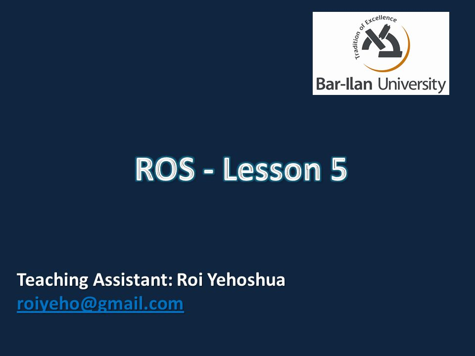 Understanding costmaps move_base package Running ROS navigation in Stage Using rviz with navigation stack (C)2013 Roi Yehoshua