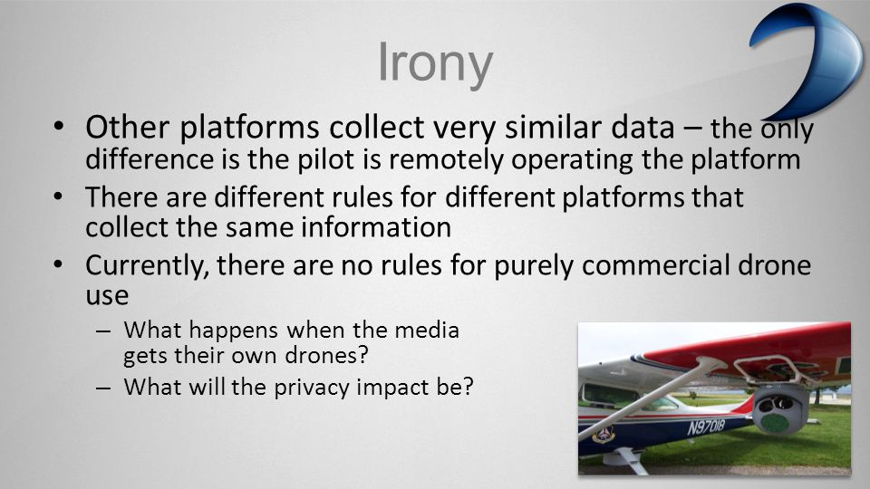 www.ksivideo.com Challenge: Data Collection and Retention There are guidelines: the International Association of Chiefs of Police Aviation Committee Recommended Guidelines for UAS: Warrants are necessary for the use of drones where subjects have a reasonable expectation of privacy Images should not be retained unless relevant to a crime The public should be given meaningful notice of drone use Police drone use should be subject to tracking and audits, with accountability for misuse Weapons should not be placed on domestic drones And there are Laws: Chain-of-Custody dictates how data can be shared among Federal, State and Local agencies Storage and Security
