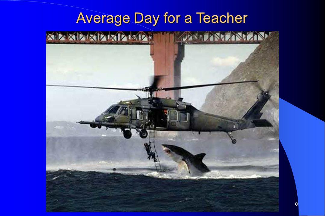 9 Average Day for a Teacher