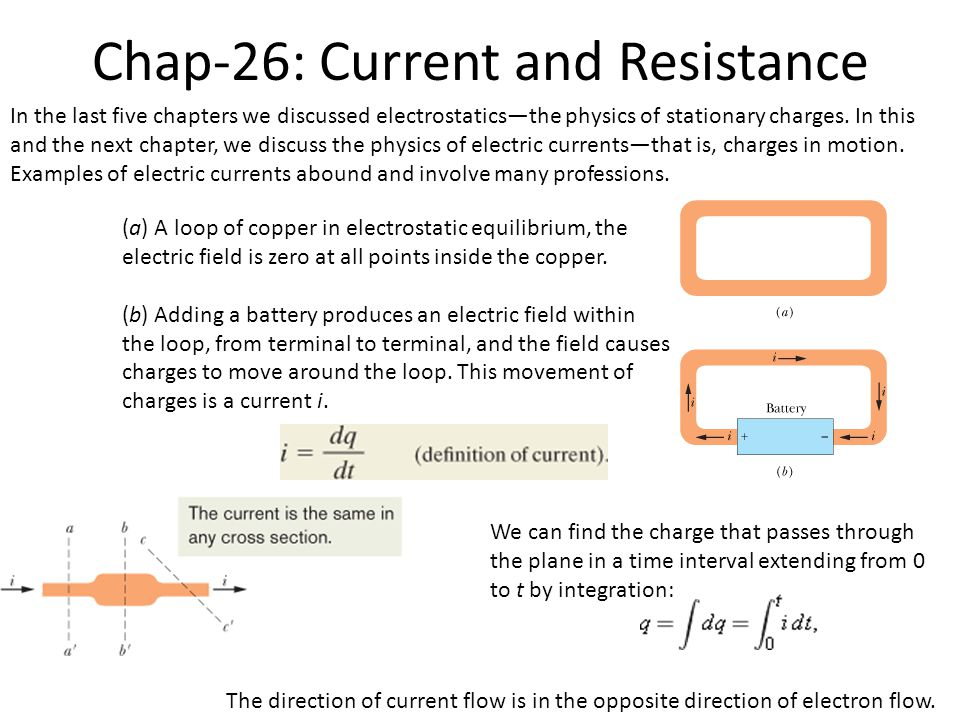 i + q conductor A Current Density and Drift Speed Current is a scalar. Current density is a vector.