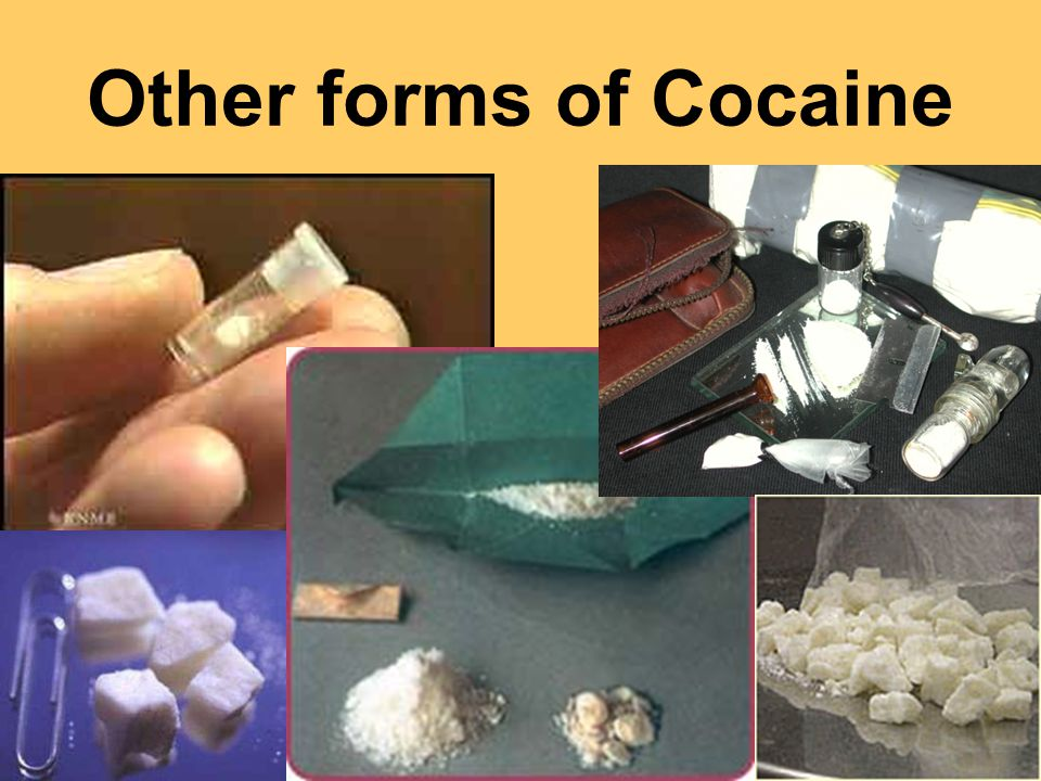 Other forms of Cocaine