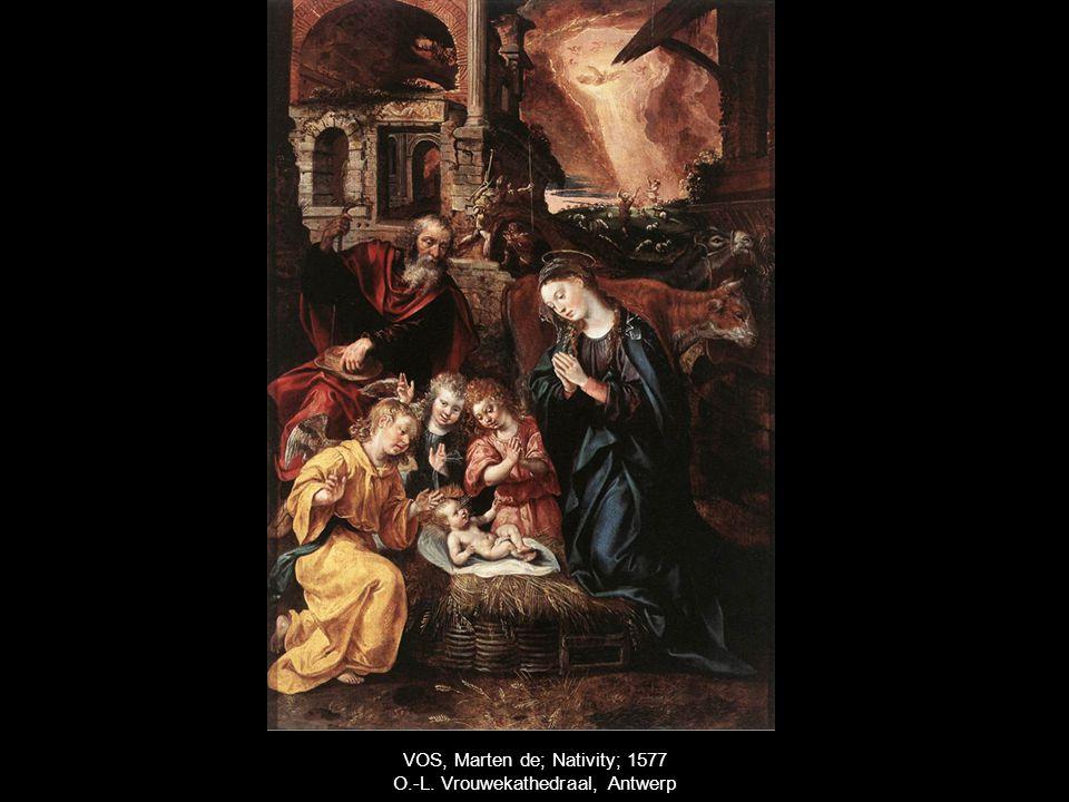 VOS, Marten de; Nativity; 1577 O.-L. Vrouwekathedraal, Antwerp