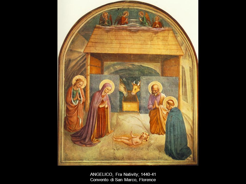 ANGELICO, Fra Nativity; 1440-41 Convento di San Marco, Florence