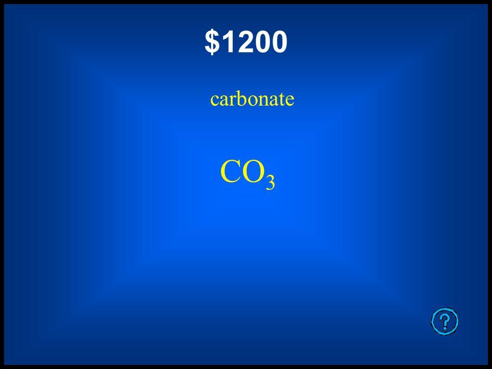 $800 hydroxide OH