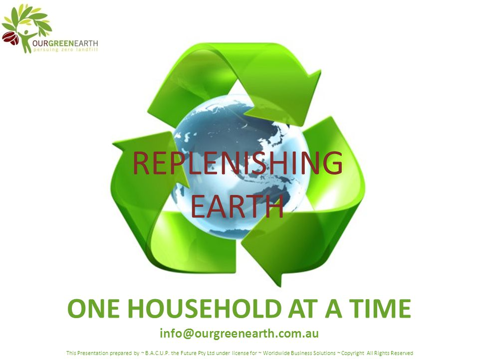 If one seed can grow a forest – one person can change the Earth so the forest can grow – just multiply yourself and your composting, in others.