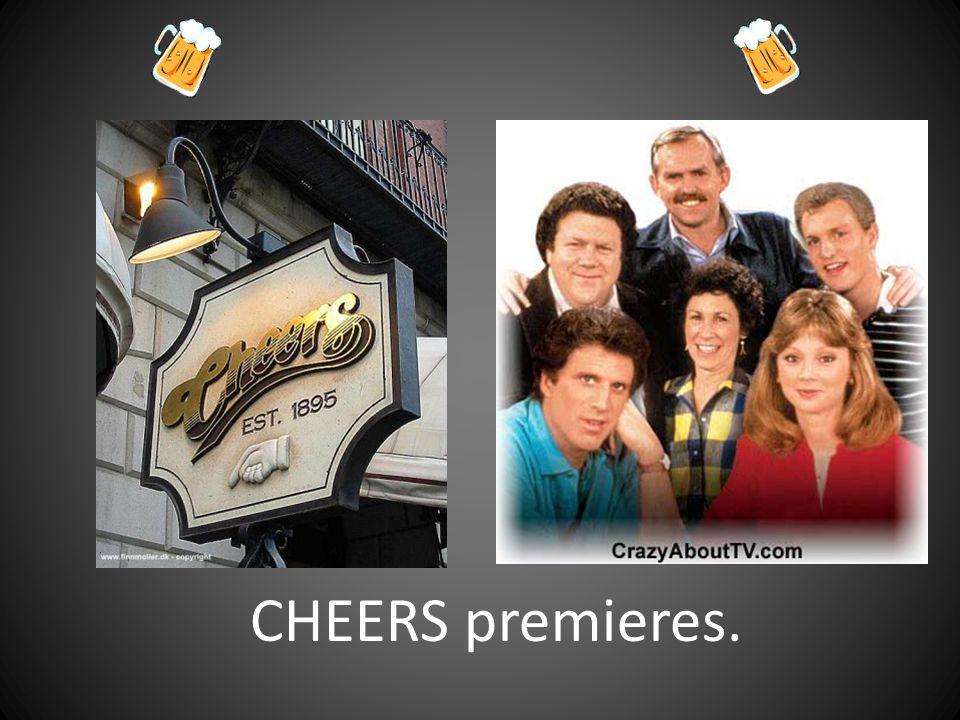 CHEERS premieres.