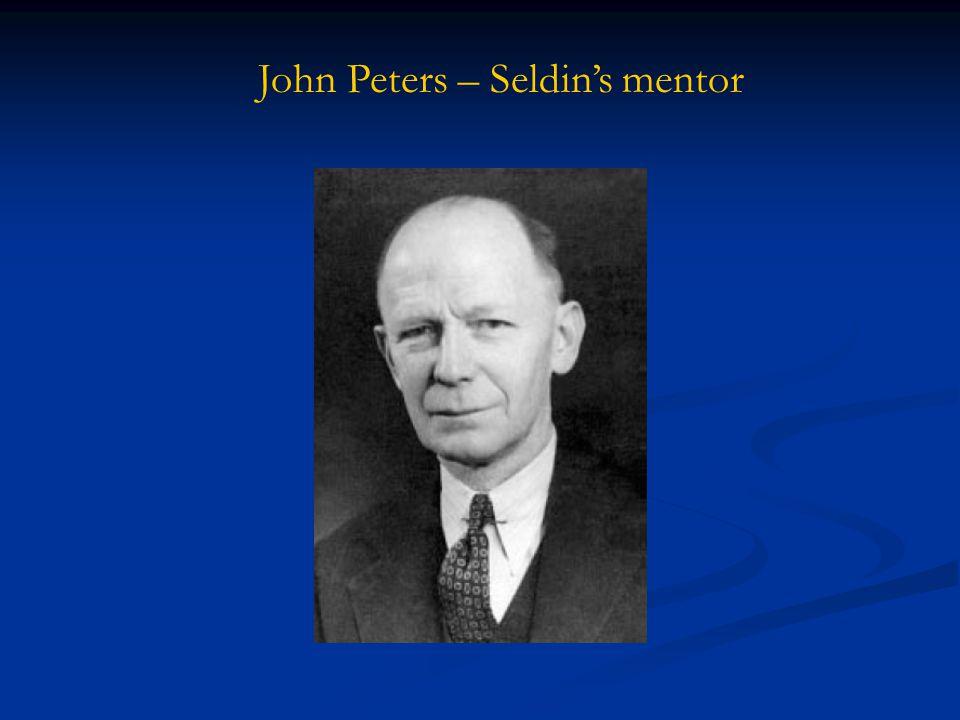 John Peters – Seldin's mentor
