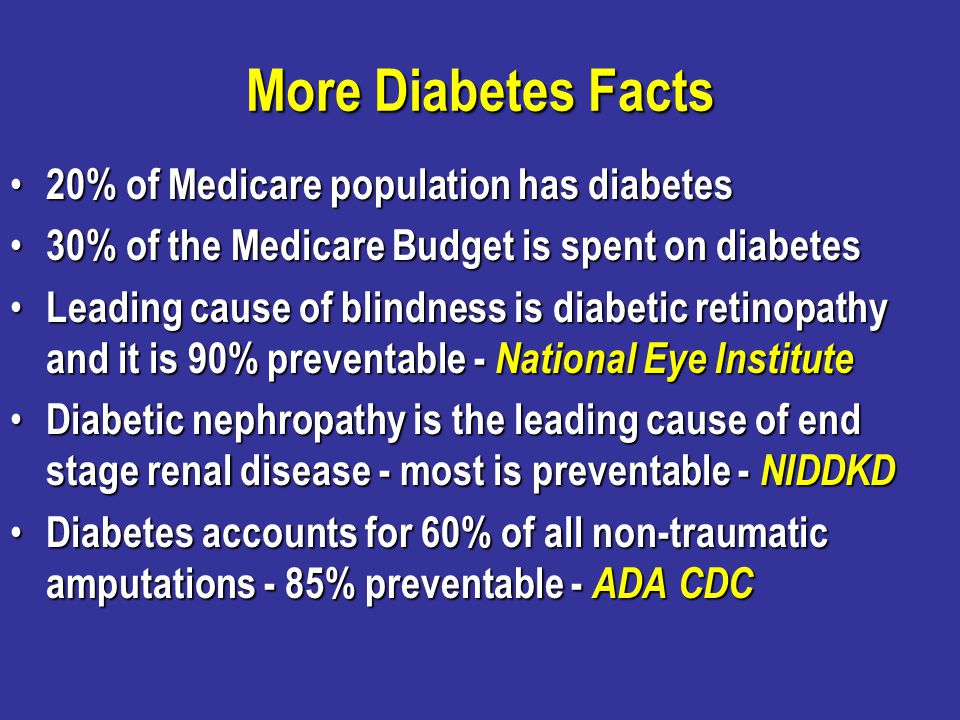 Lets look at the evidenced-based goals for diabetes care that are used in our registry.