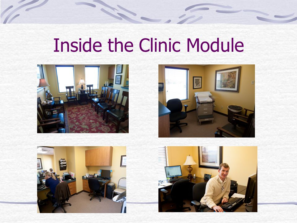 Inside the Clinic Module