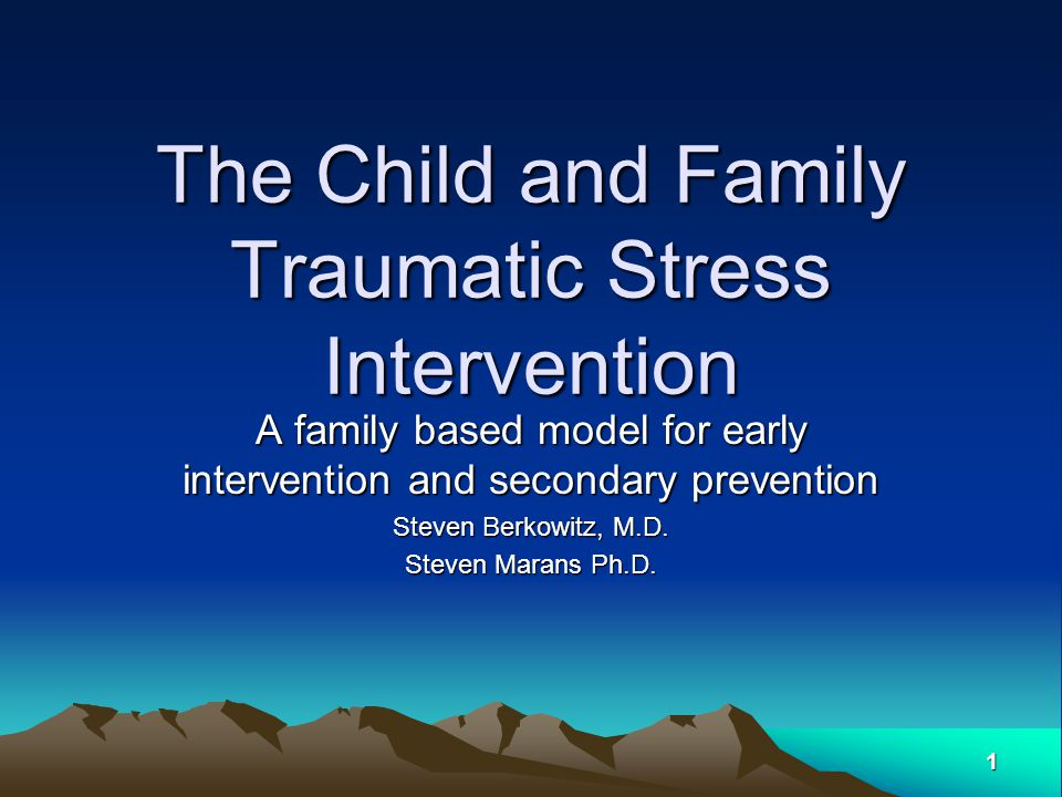 12 Nuts and Bolts: Procedure First Session –Brief orientation with child and parent/s –Parents and child meet separately Lead clinician meets with either child or parent while support clinician meets with other –Based on family's interest and developmental issues (e.g..