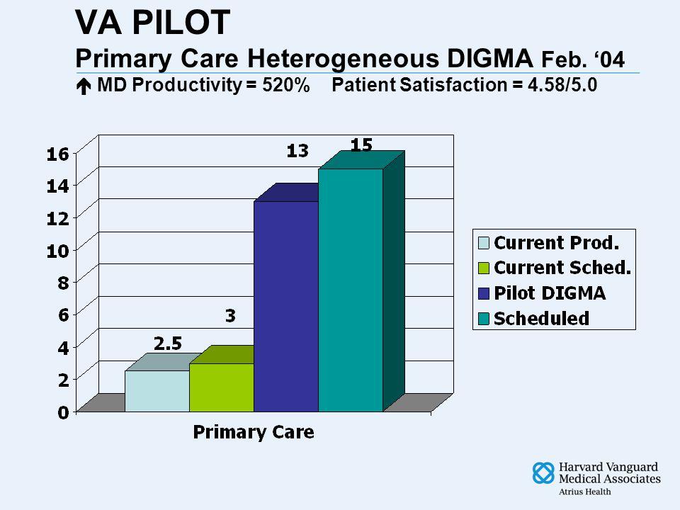 VA PILOT Primary Care Heterogeneous DIGMA Feb.