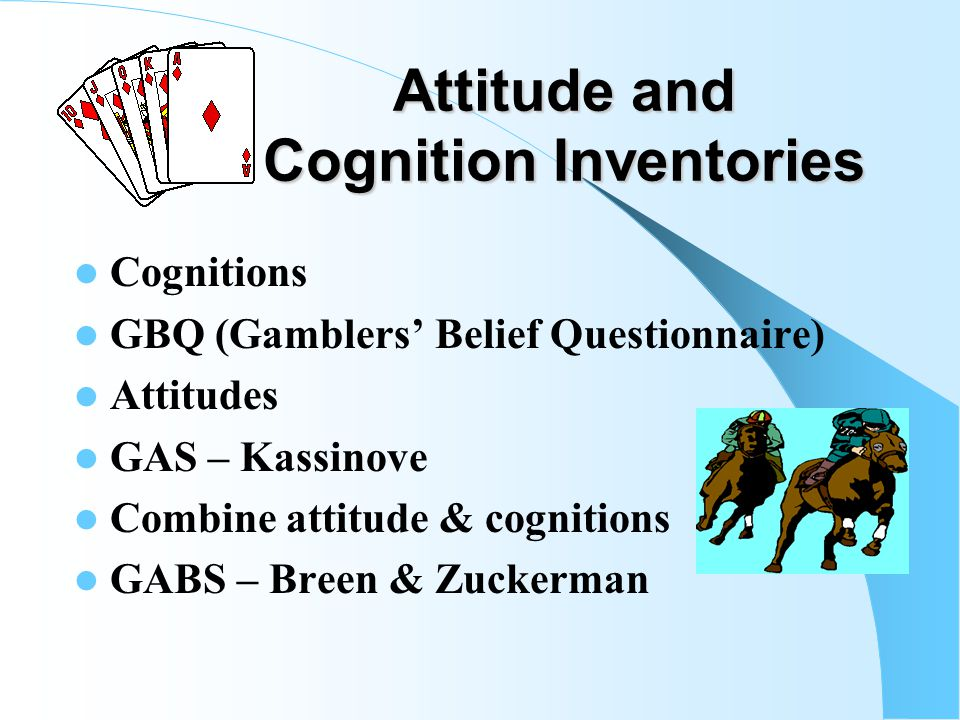 Cognitive Treatment Ladouceur & Colleagues (2001) A focus on randomness is very effective when compared to controls Erroneous beliefs about chance, lu