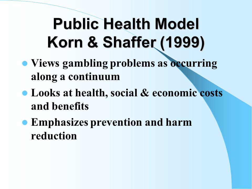 Blaszczynski & Nower Pathways Model-- 3 Biologically Base Impulsive Gambler -- Impulsive & Attention Deficits -- High Severity of Gambling Problems -- Substance Dependence -- High Suicidal -- High Irritability -- Low Tolerance for Boredom -- Sensation Seeking; High Criminality -- Poor interpersonal relationships -- Early age of onset; rapid increase of problems -- Binge Gambling