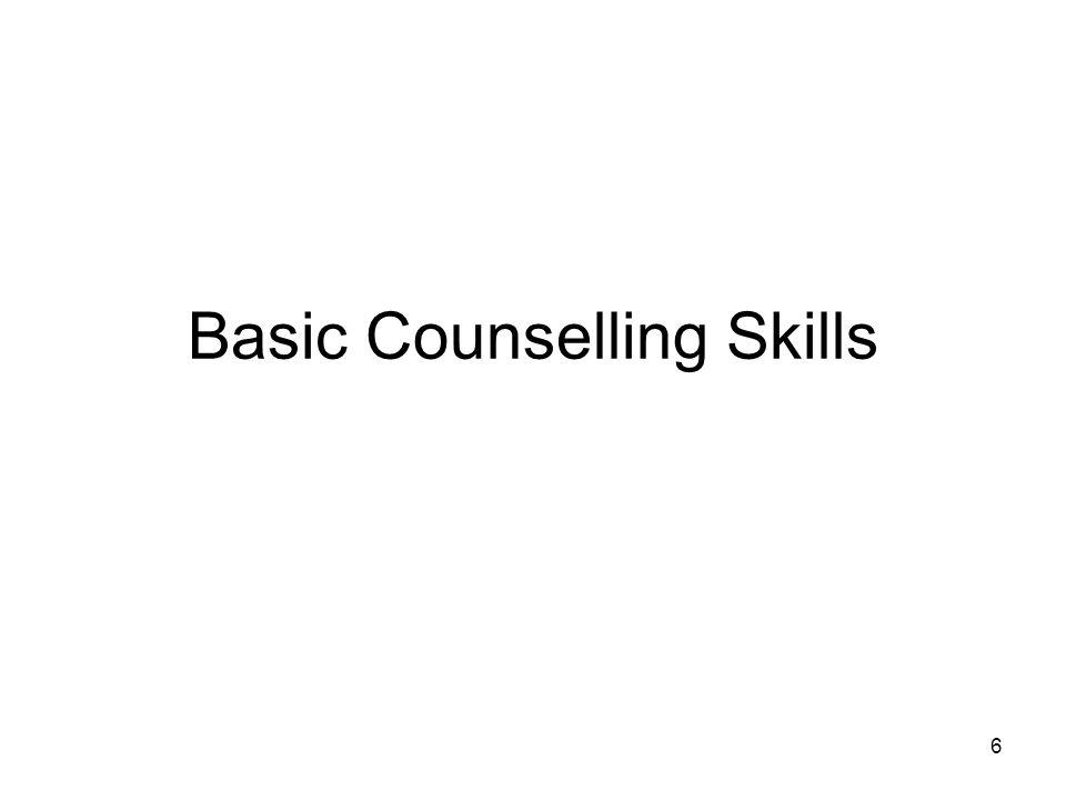 Basic Counselling Skills 6