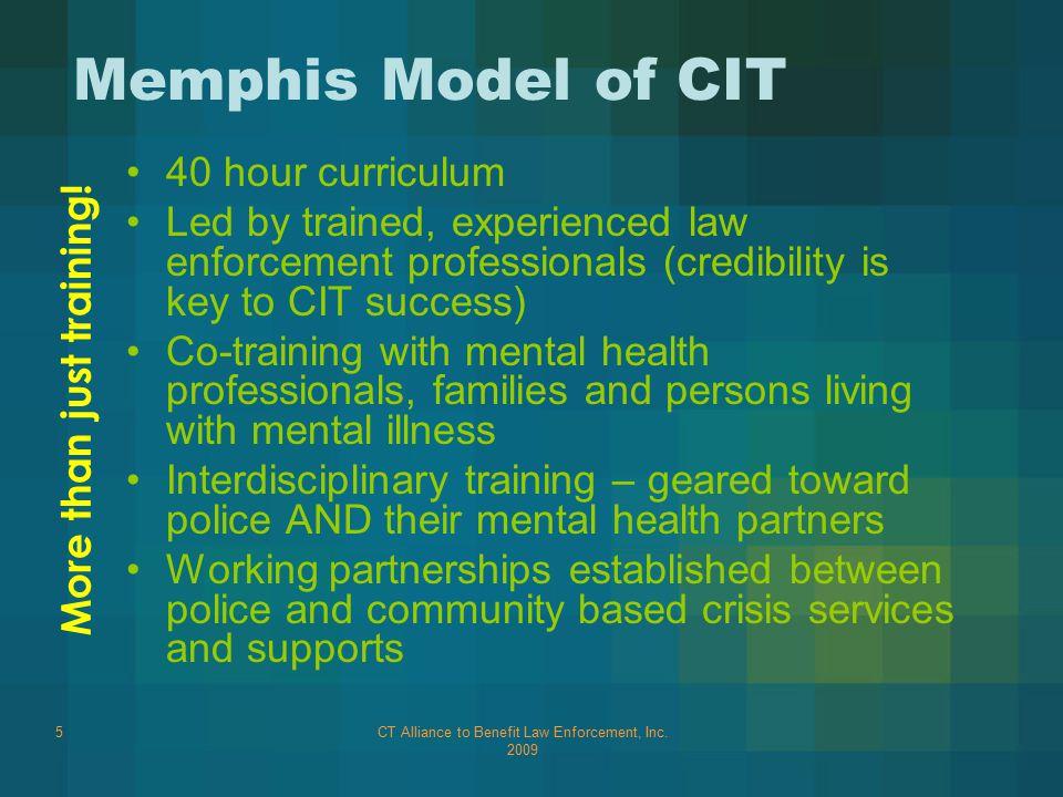 CT Alliance to Benefit Law Enforcement, Inc.