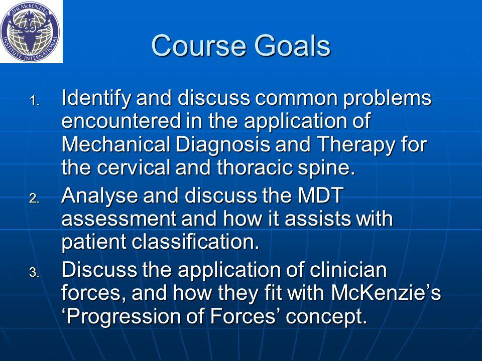 Course Goals 1.