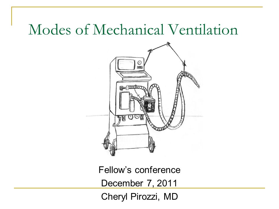 Inverse ratio ventilation Strategy of inversing I:E ratio (I>E) to potentially improve oxygenation When pt is severely hypoxemic despite optimal PEEP and FiO2 Can be used with volume-limited or pressure-limited mechanical ventilation  In pressure: increase I:E ratio  In volume: ramp wave- decrease peak inspiratory flow rate until I exceeds E  In volume square wave- add and increase end- inspiratory pause until I exceeds E