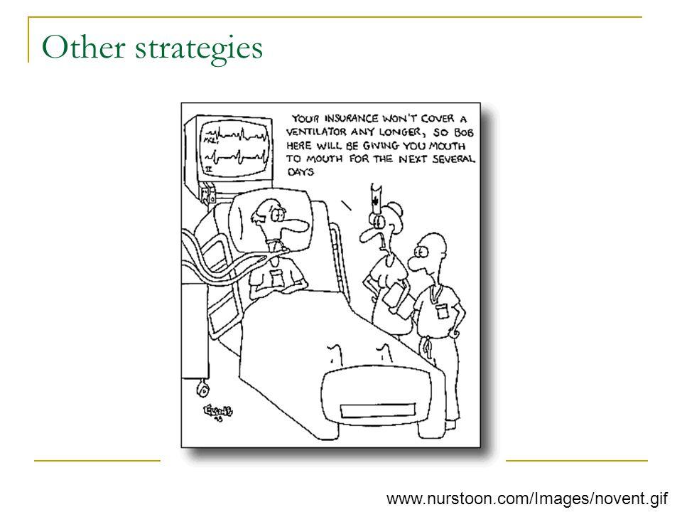 Other strategies www.nurstoon.com/Images/novent.gif