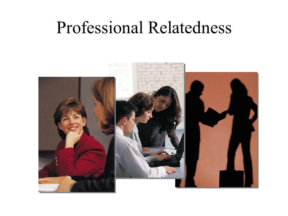 Professional Relatedness