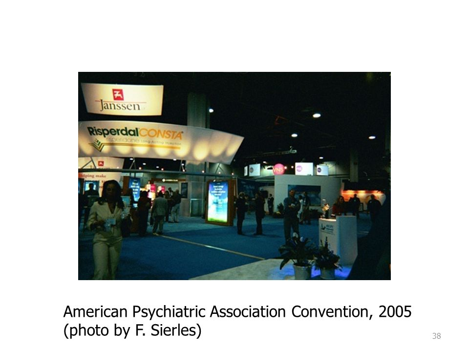 38 American Psychiatric Association Convention, 2005 (photo by F. Sierles)
