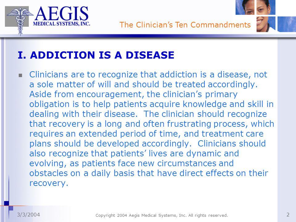 3/3/2004 Copyright 2004 Aegis Medical Systems, Inc.