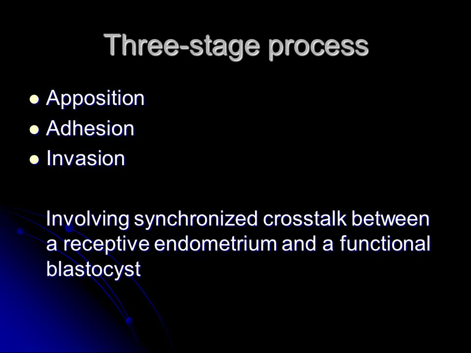 Ways in which a clinician could try to improve implantation rate.