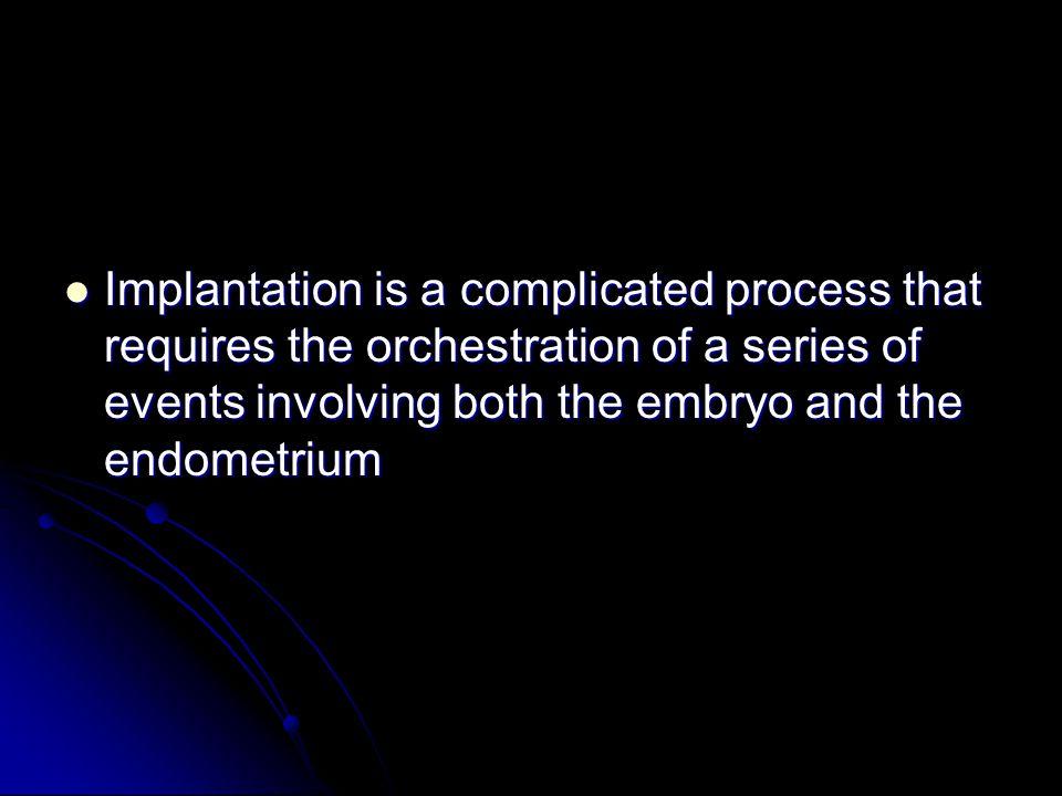 implantation rates remain around 25- 35%(European IVF-Monitoring Program,2005).