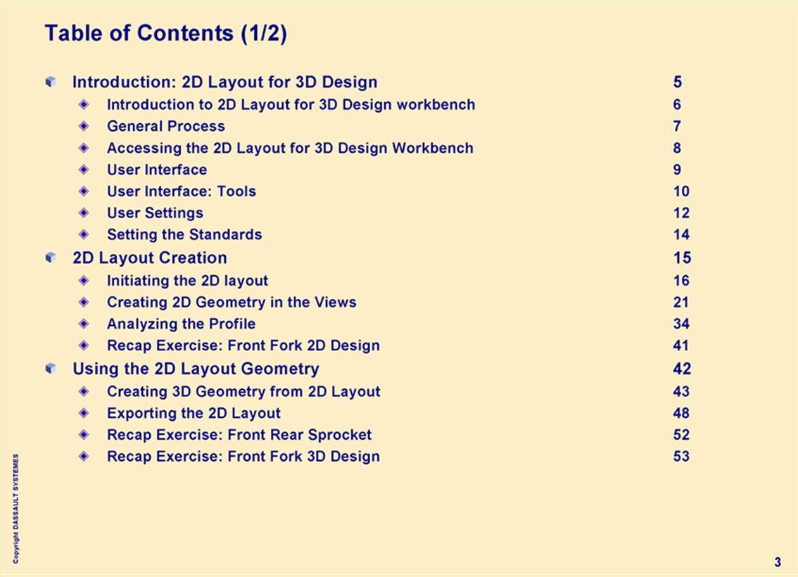 Copyright DASSAULT SYSTEMES 44