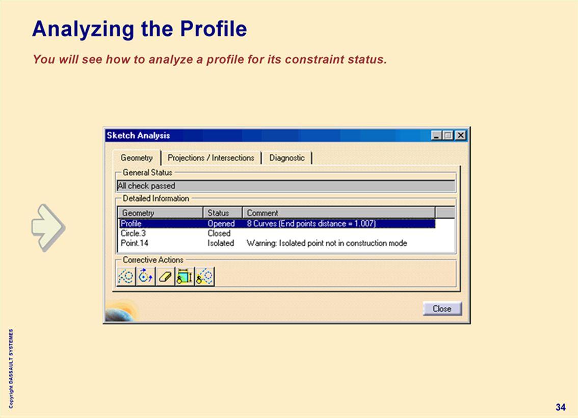 Copyright DASSAULT SYSTEMES 34