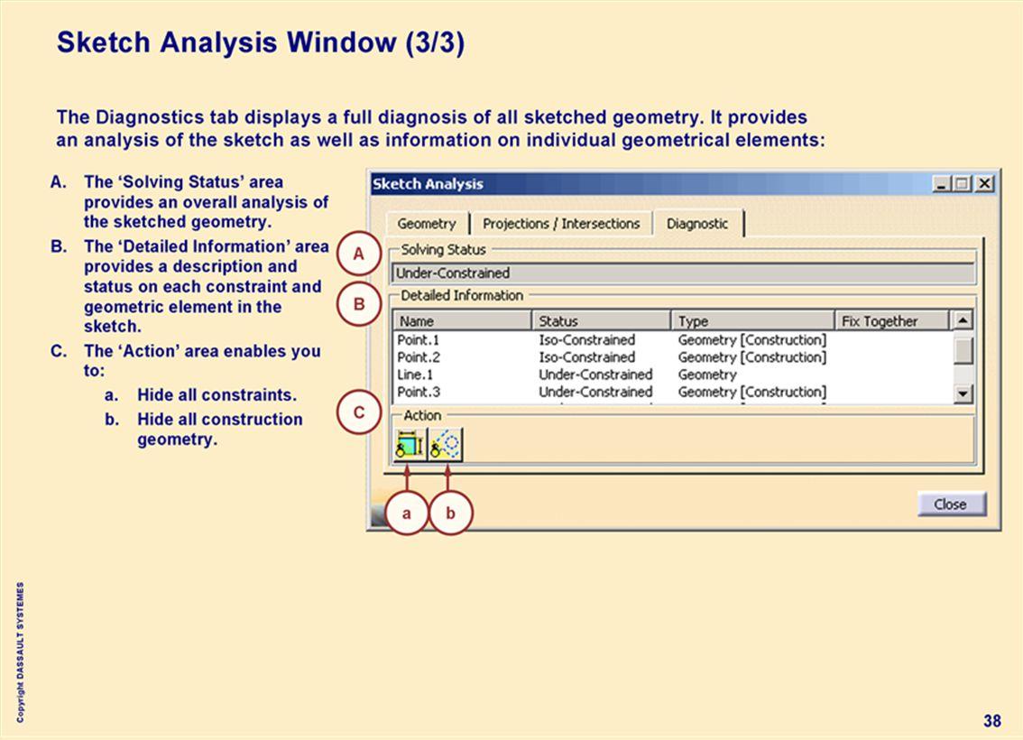 Copyright DASSAULT SYSTEMES 38