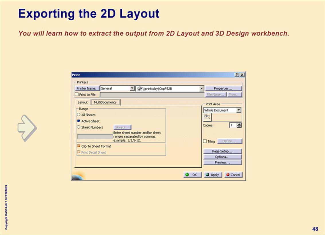 Copyright DASSAULT SYSTEMES 48