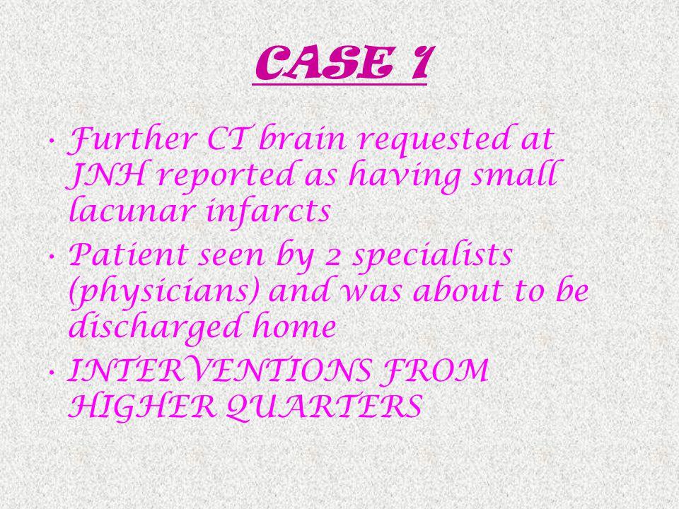 CASE 2 Mr B.C.