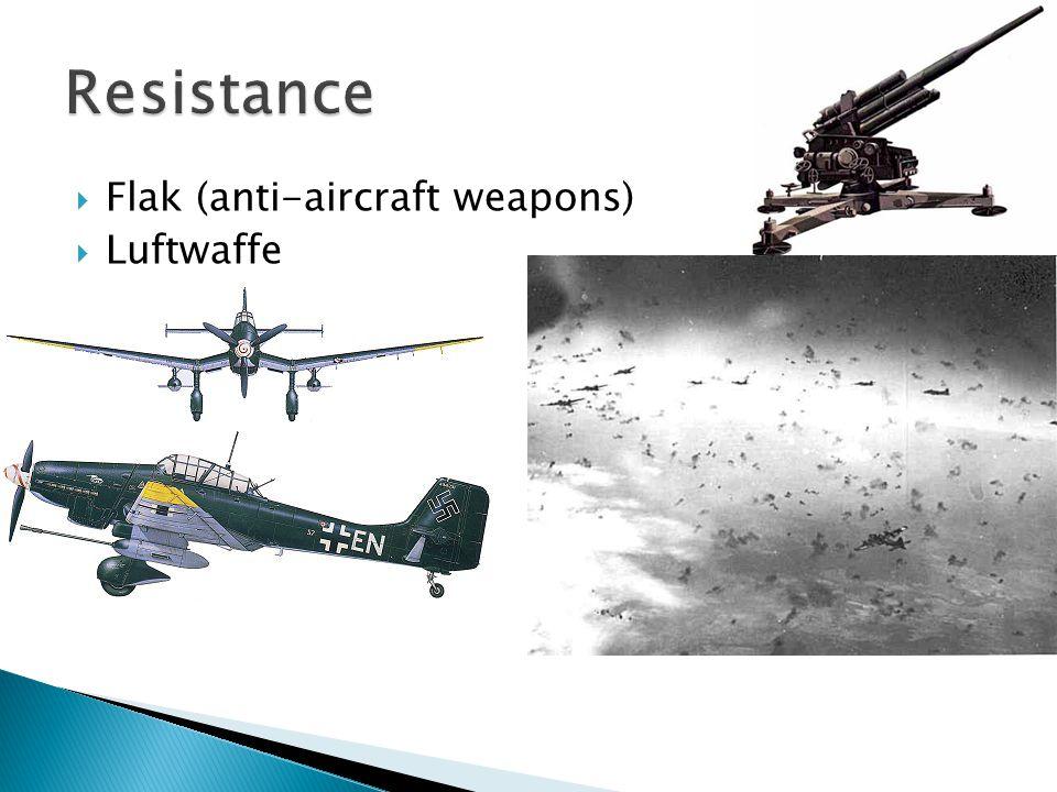  Flak (anti-aircraft weapons)  Luftwaffe