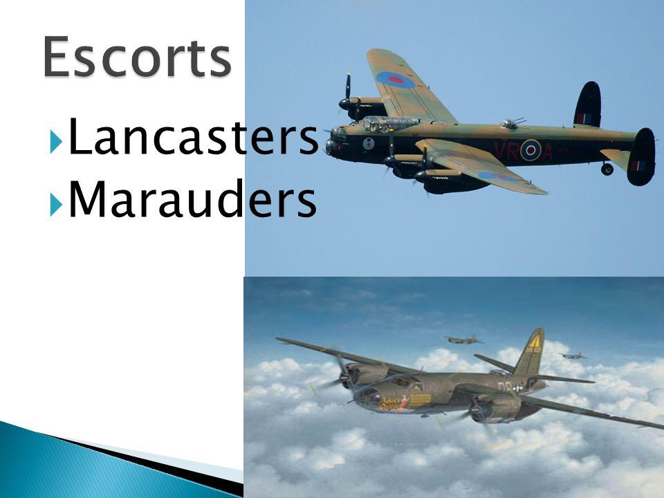  Lancasters  Marauders