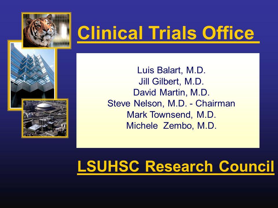 Luis Balart, M.D. Jill Gilbert, M.D. David Martin, M.D.