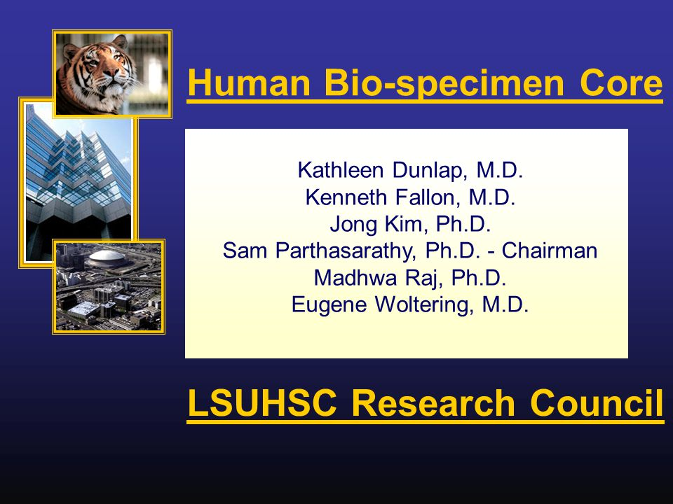 Kathleen Dunlap, M.D. Kenneth Fallon, M.D. Jong Kim, Ph.D.