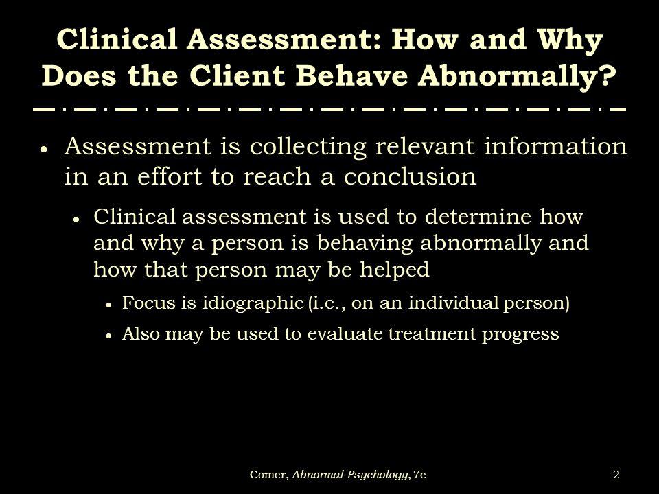 53Comer, Abnormal Psychology, 7e FIGURE 4-5