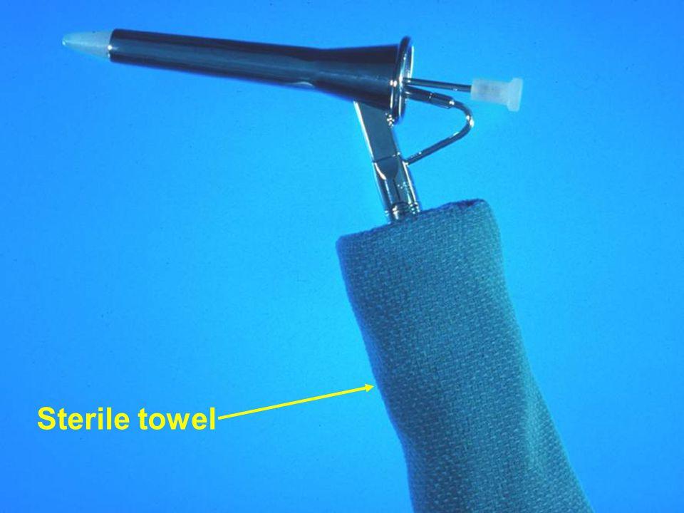 Sterile towel