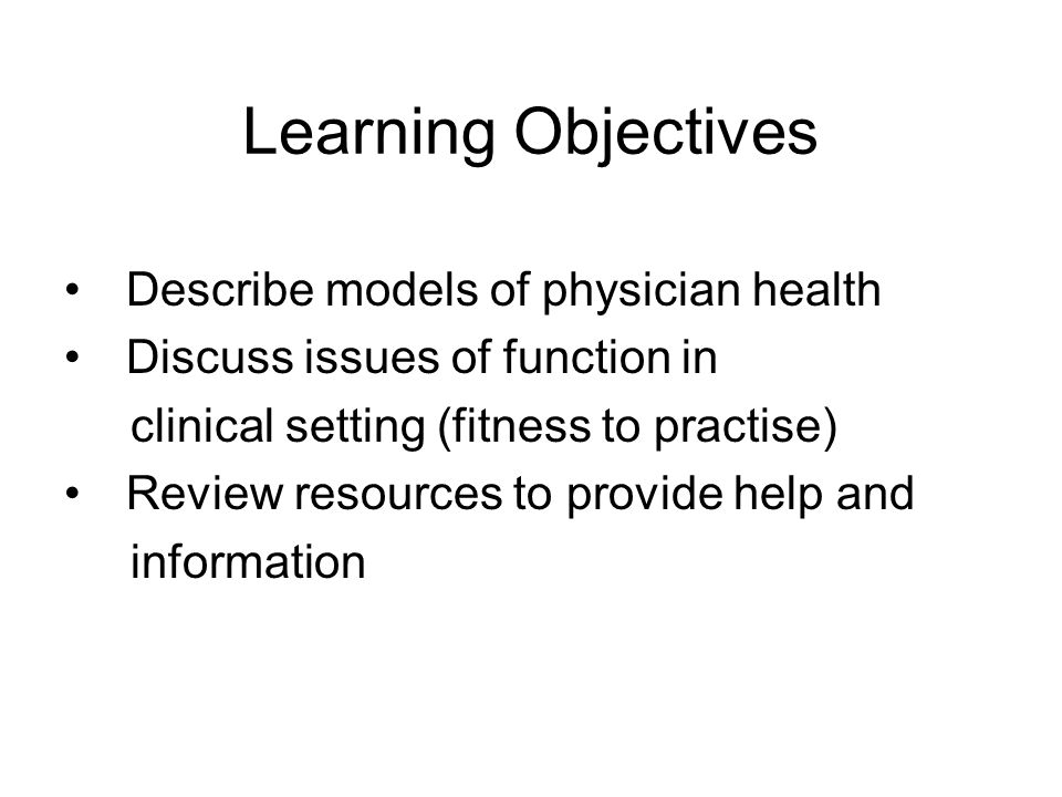 Approaches to Physician Health Impairment Wellness Peer Review Occupational Medicine Demographic and Resource Planning University of Chicago Psychiatry Grand Rounds on the Internet, March 12, 2001 Physician Wellness: An Overview Larry S.