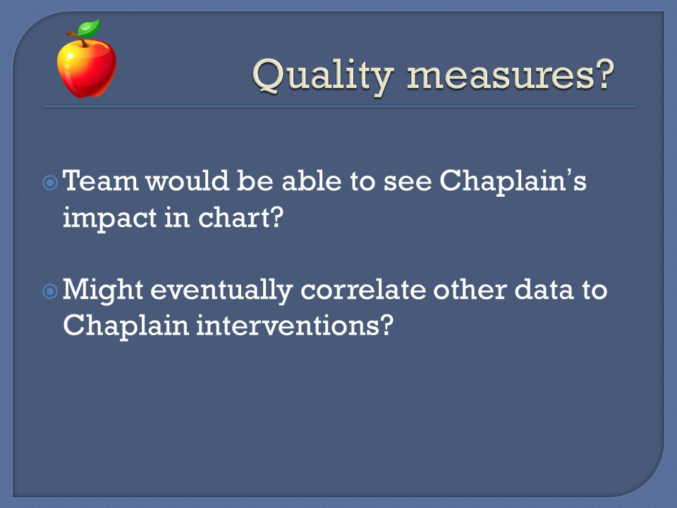 Chaplains need to leverage their expertise to teach!
