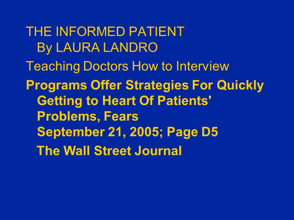 THE FOUR HABITS MODEL ©1996, 1999, 2003 The Permanente Medical Group, Inc.