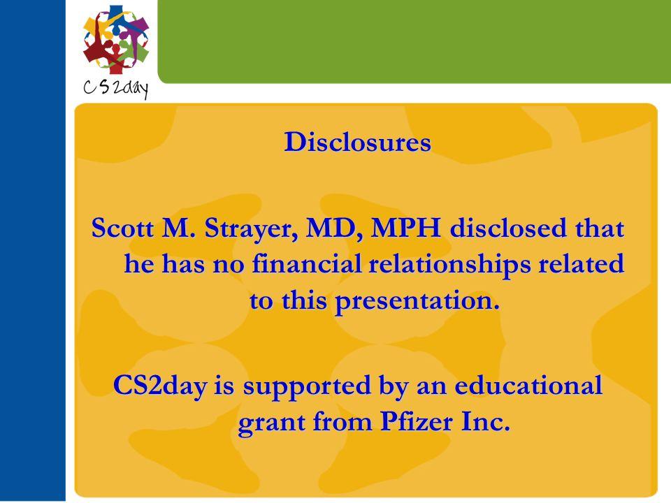 Disclosures Scott M.