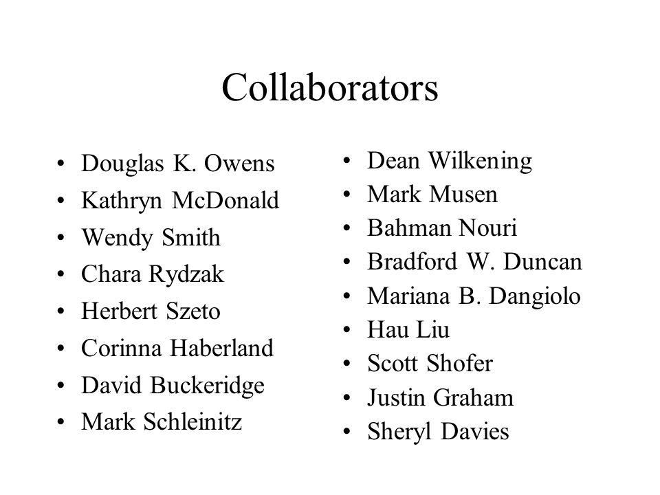 Collaborators Douglas K.