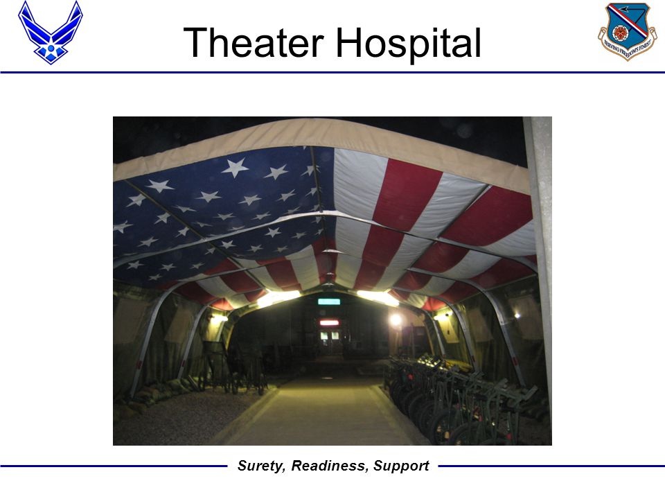 Surety, Readiness, Support Theater Hospital