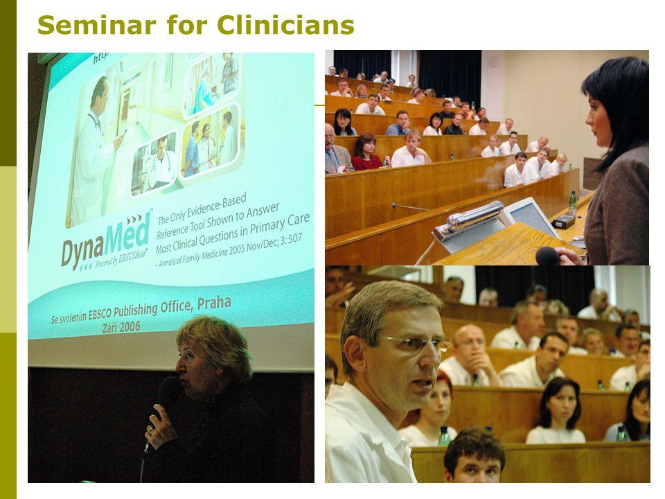 11 Seminar for Clinicians