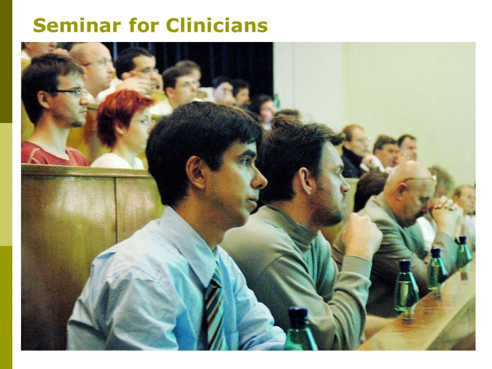 12 Seminar for Clinicians