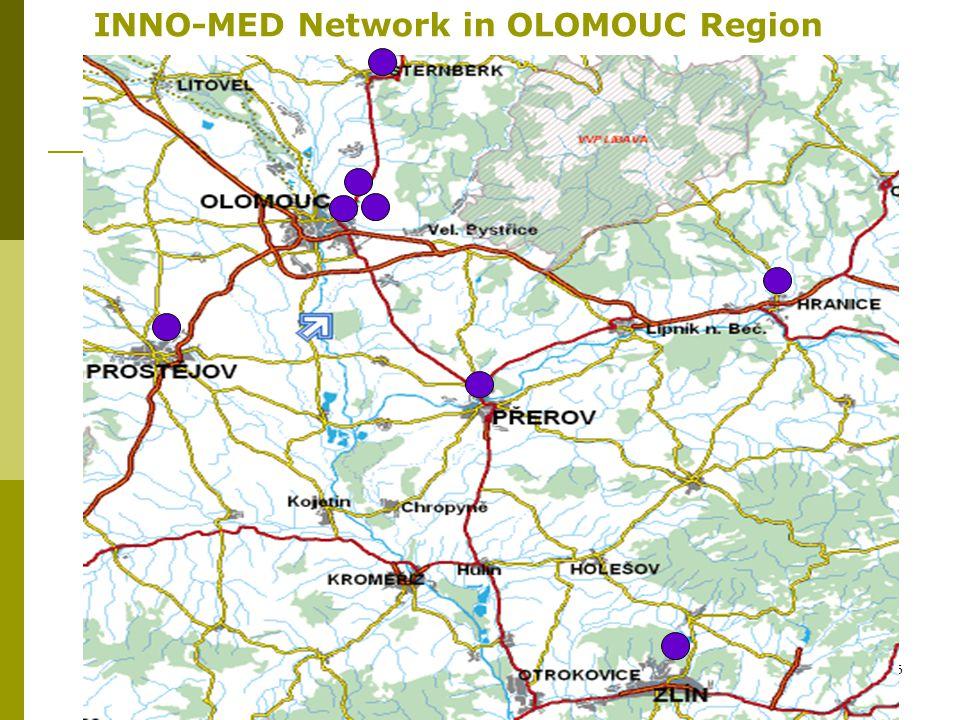 16 INNO-MED Network in OLOMOUC Region